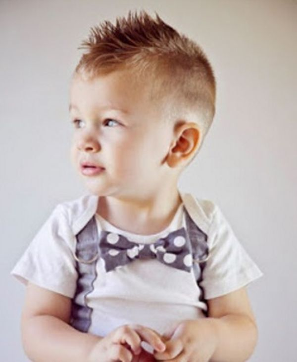 Bellos cortes de cabello para bebs 1