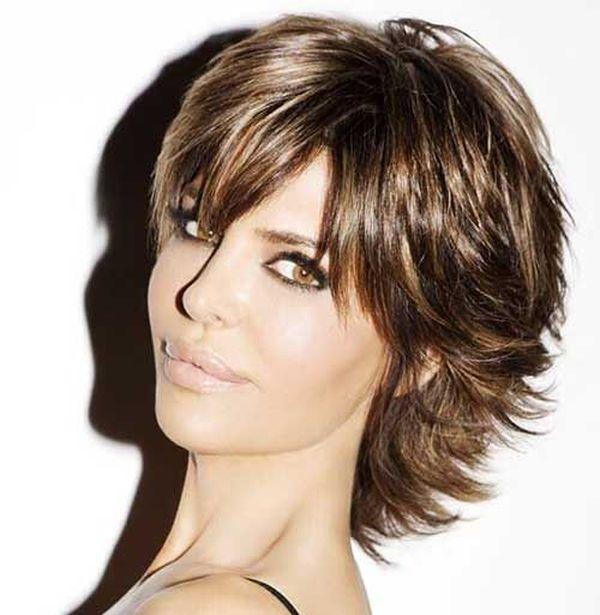 Corte de cabello en capas cortas 1