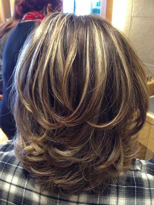 Corte de cabello en capas cortas 2