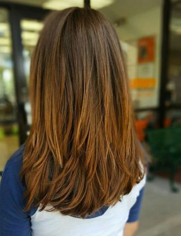 Corte de cabello en capas largas 3