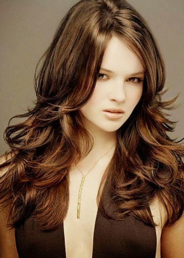 Corte de cabello en capas para mujeres 1