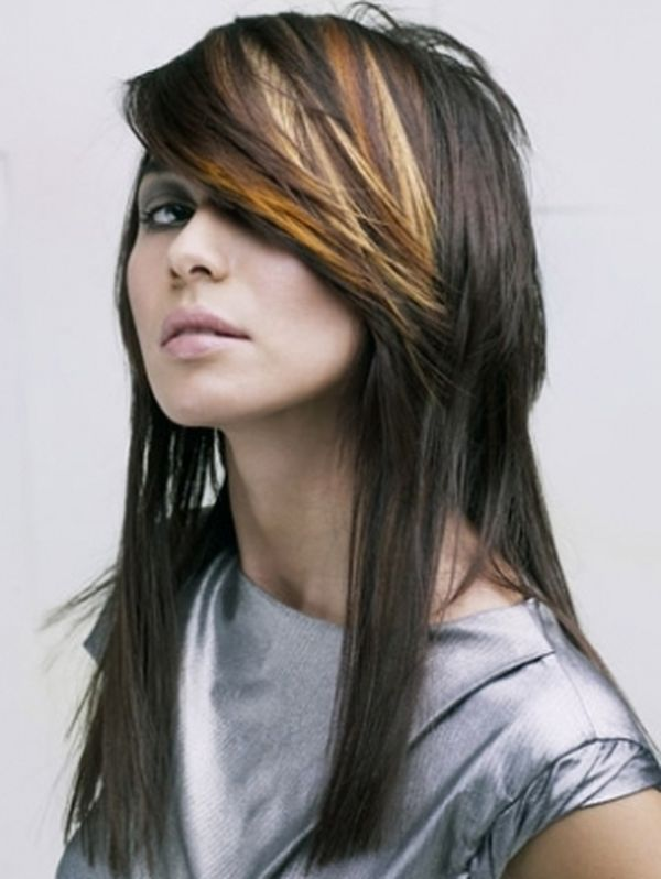 Corte de cabello en dos capas una larga y otra corta 2