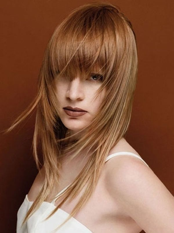 Corte de cabello en dos capas una larga y otra corta 3