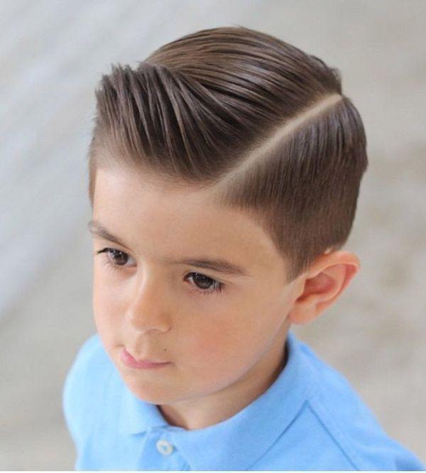 Cortes de cabello para nios de cabello lacio 2