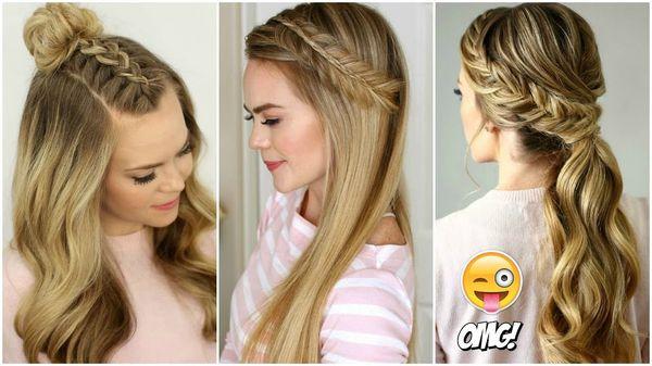 Peinados fciles para pelo largo 1