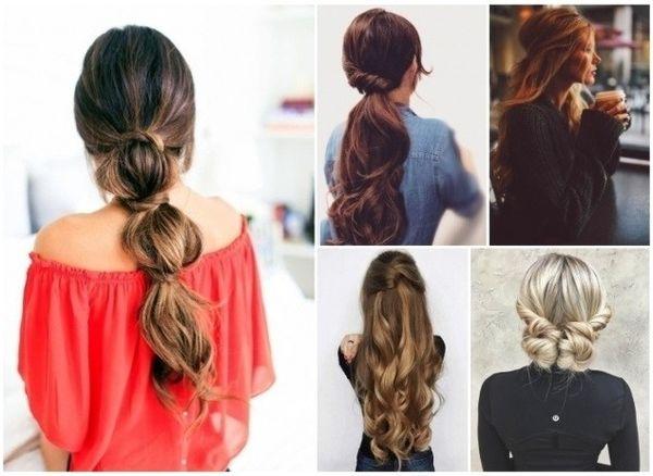 Peinados fciles para pelo largo 2