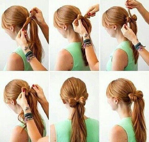 Peinados fciles para pelo largo paso a paso 1