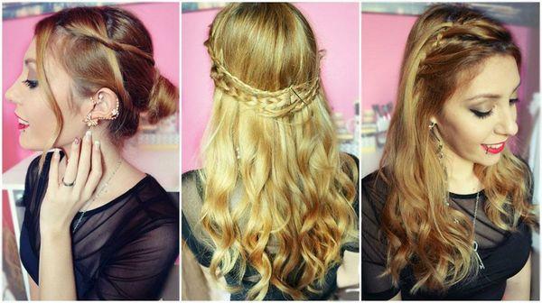 Peinados fciles y rpidos para cabello largo de mujer 2