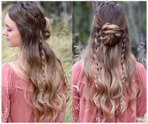 Peinados fciles y rpidos para cabello largo de mujer 3