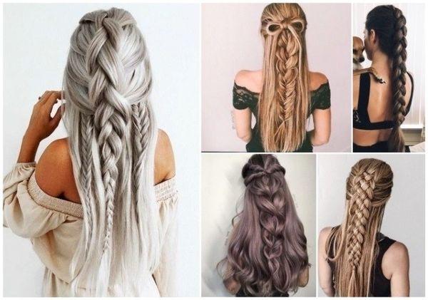 Peinados para cabello largo 2