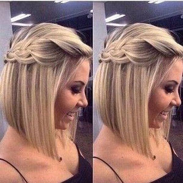 Peinados para fiesta para cabello corto 1