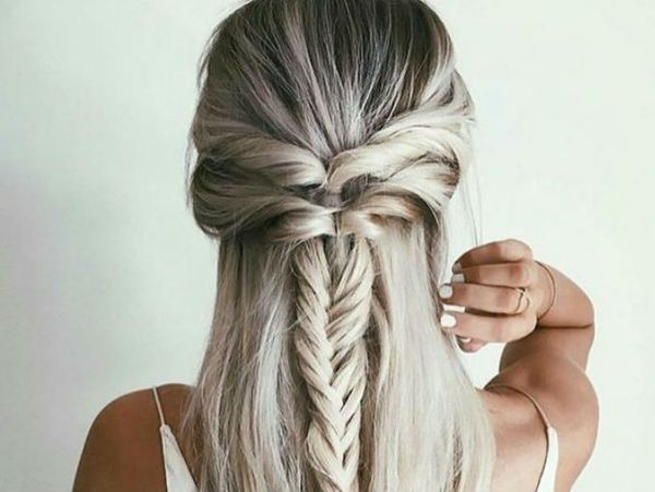 Peinados para pelo largo 1
