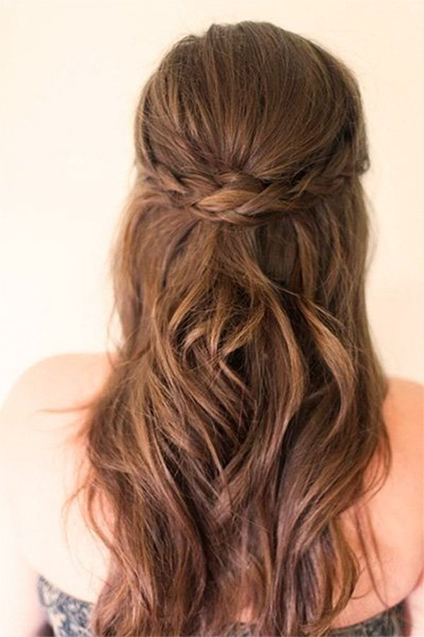 Peinados semi recogidos de fiesta 2