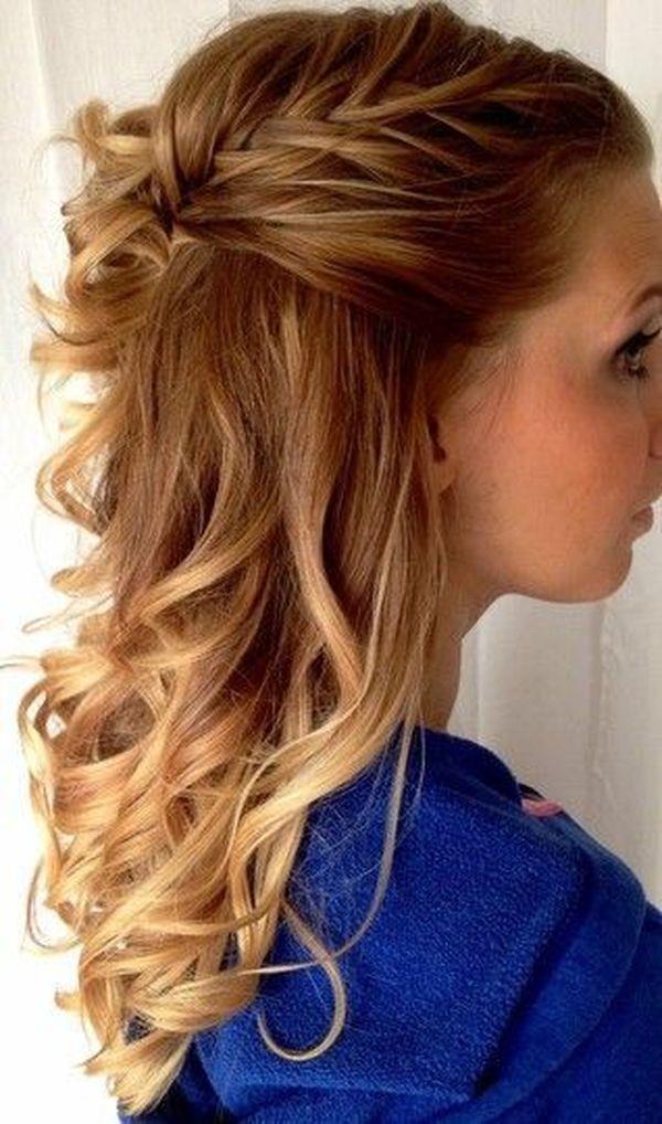 Peinados sencillos de fiesta 2