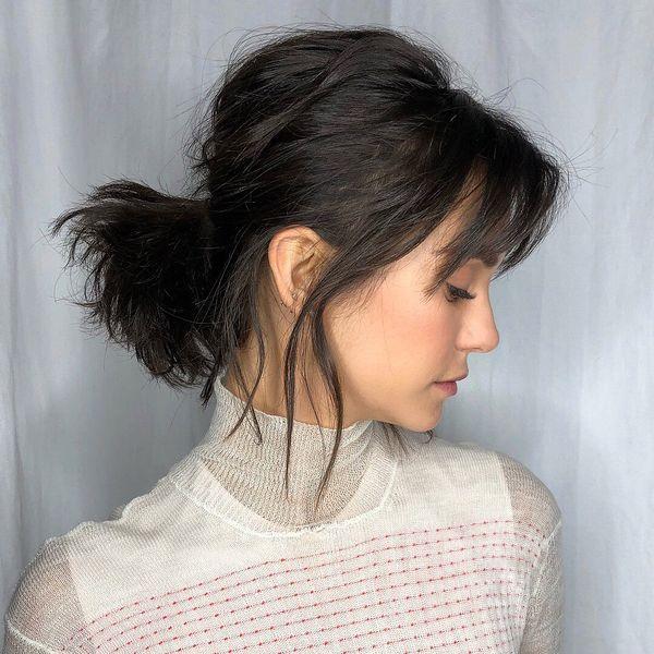 Cmo peinar de moda el cabello corto 6