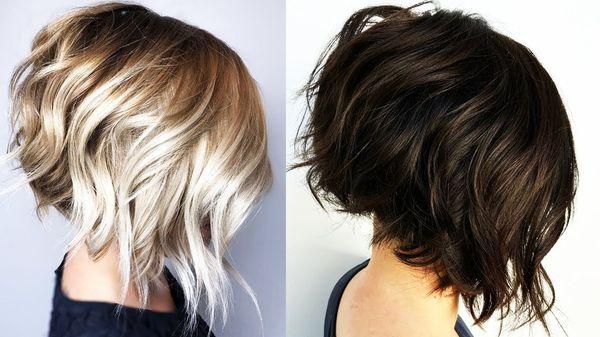 Peinados bonitos para cabello corto en capas 6