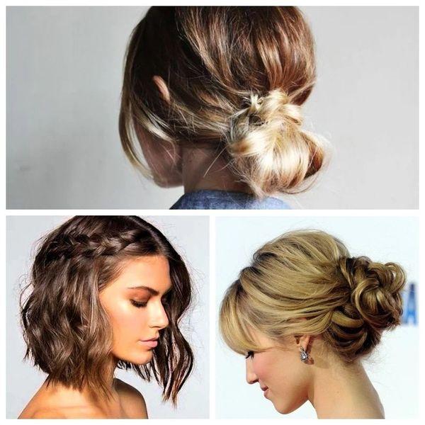 Peinados elegantes para cabello corto con rizos 5
