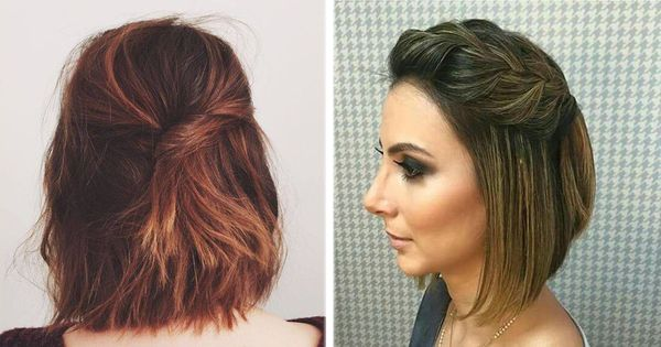 Peinados fciles y rpidos para cabello corto 3