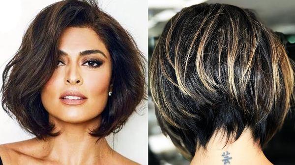 Peinados para cabello corto con fleco 1