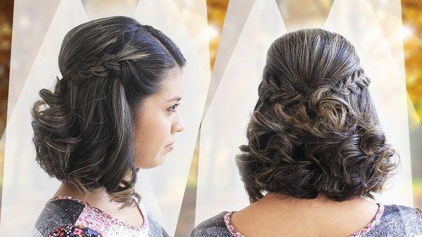 Peinados para cabello corto para salir de fiesta 2
