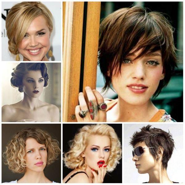 Peinados recogidos para cabello corto 6