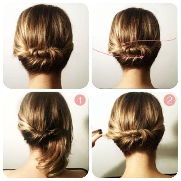 Peinados sencillos para cabello muy corto 6