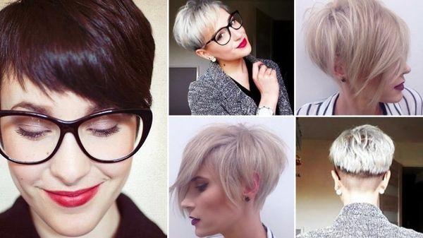 Aktuelle Frauenfrisuren mit kurzen Haaren 2019 2