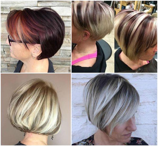 Aktuelle Frauenfrisuren mit kurzen Haaren 2019 4