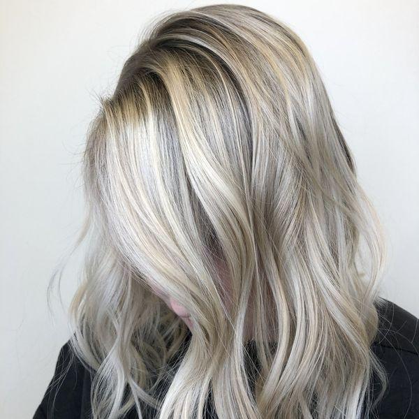Balayage fr blonde lange Haare 3