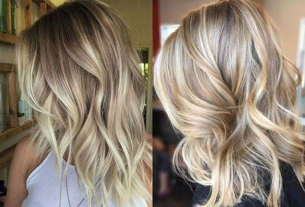 Balayage fr blonde lange Haare 4