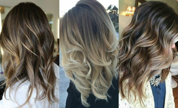 Balayage kann fr dunkelblonde Haare eingesetzt werden 2