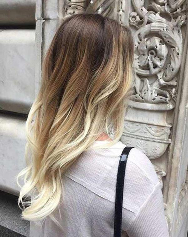 Balayage kann fr dunkelblonde Haare eingesetzt werden 3