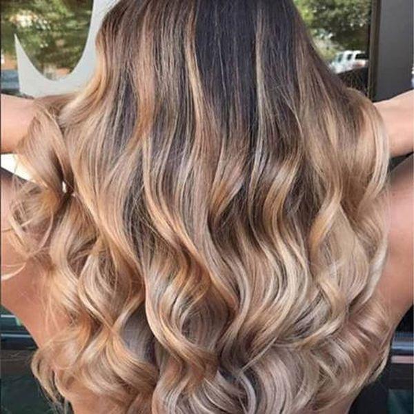 Balayage kann fr dunkelblonde Haare eingesetzt werden 4
