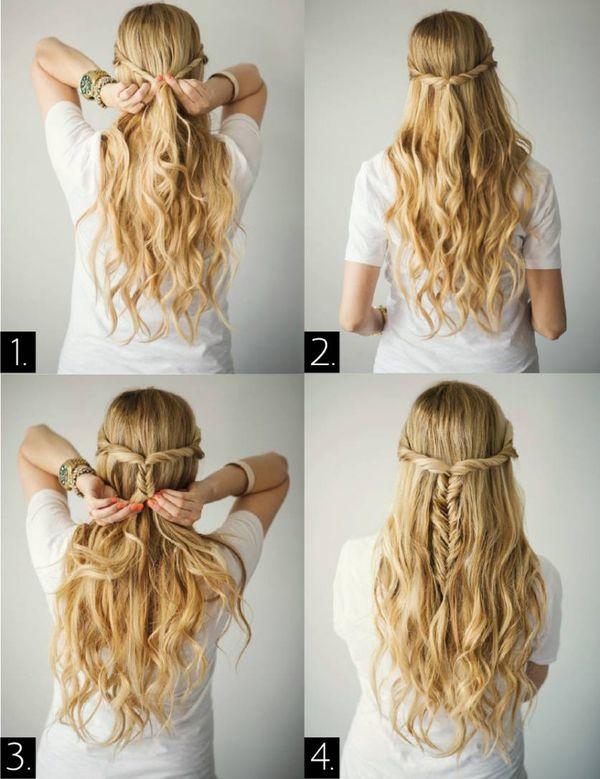 Cmo hacer peinados sencillos y bonitos 1