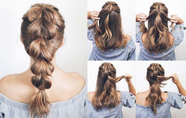 Cmo hacer peinados sencillos y bonitos 5