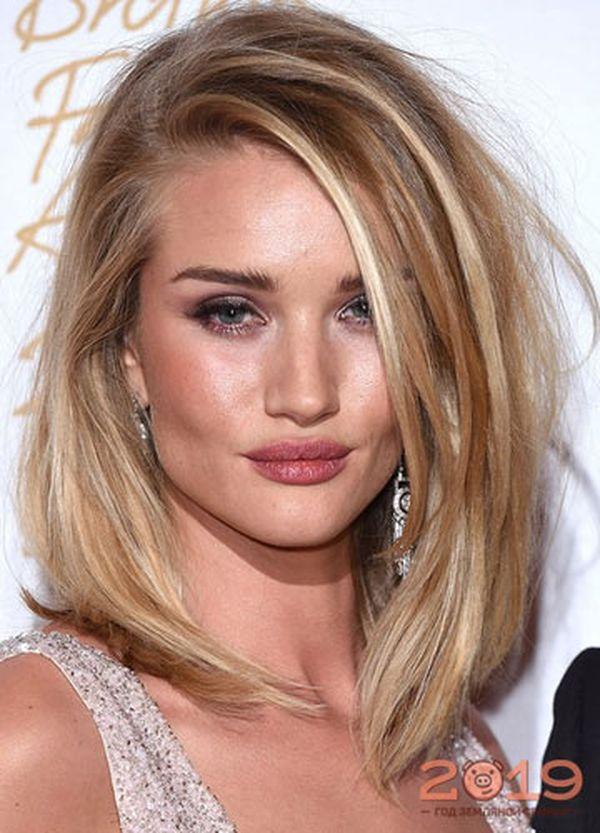 Frisuren Long Bob fr blondes Haar 2