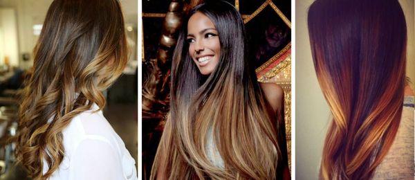 Mechas californianas para cabello largo 1