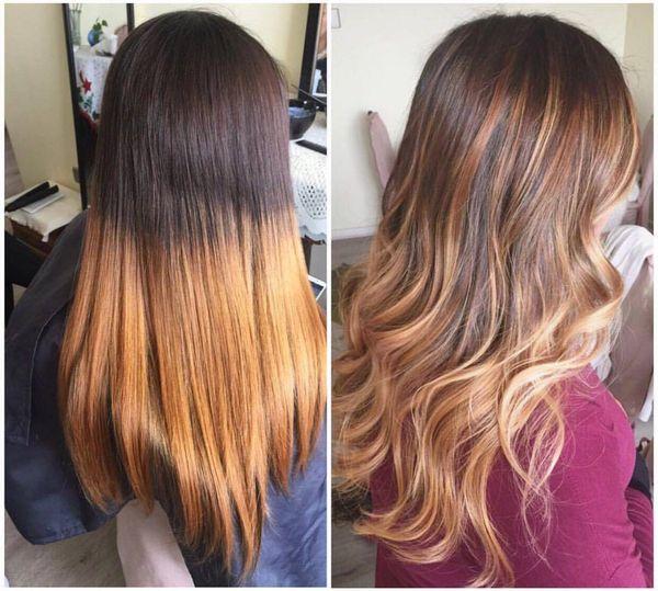 Mechas californianas para cabello largo 4