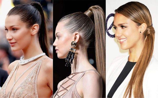 Peinados casuales con el pelo recogido 4