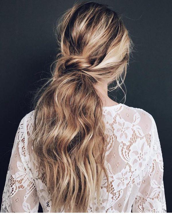 Peinados casuales con el pelo recogido 5