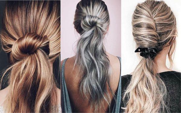 Peinados casuales con el pelo recogido 6