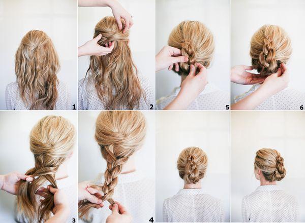 Peinados de chongos sencillos y elegantes 2