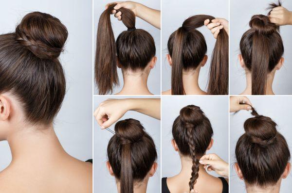 Peinados de chongos sencillos y elegantes 3