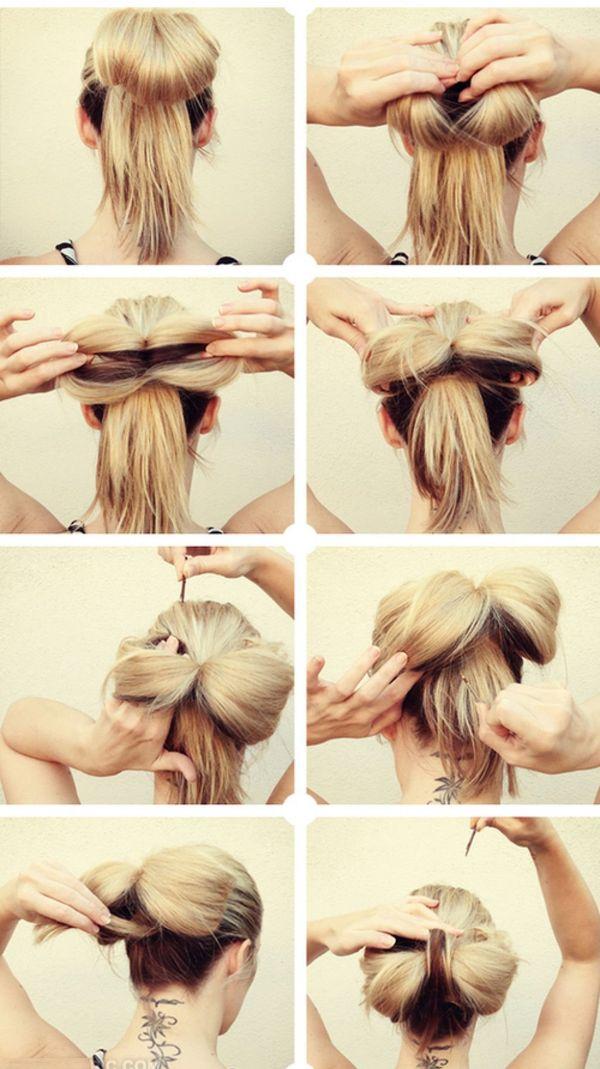Peinados de chongos sencillos y elegantes 4