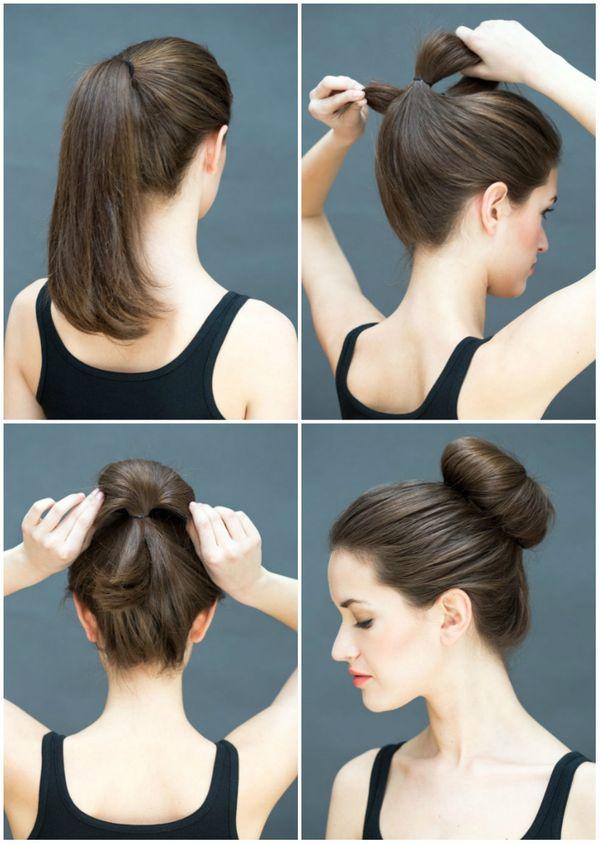 Peinados de chongos sencillos y elegantes 5