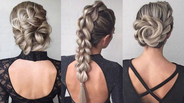 Peinados modernos con cabello recogido 1