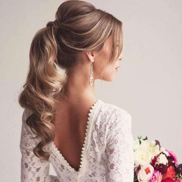 Peinados modernos con cabello recogido 2