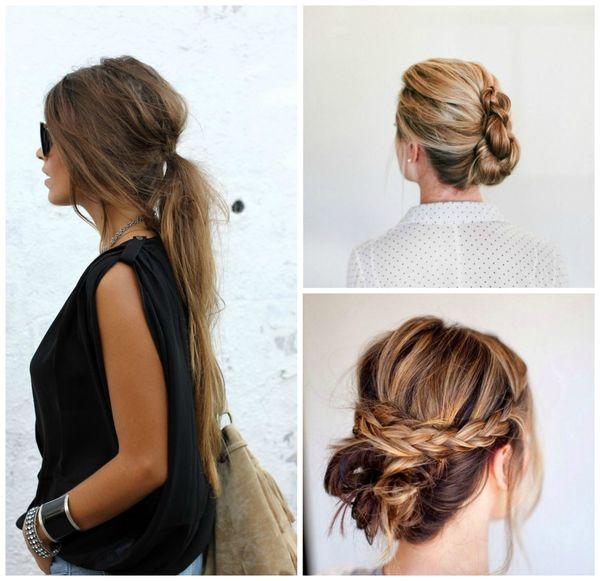 Peinados modernos con cabello recogido 4