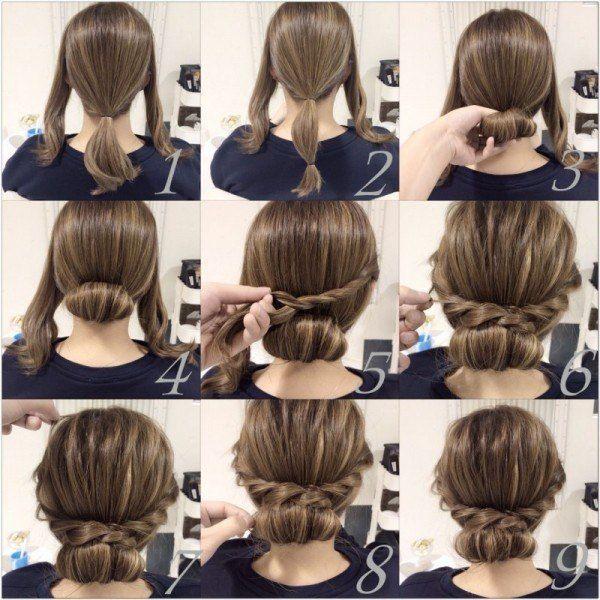 Peinados recogidos con trenzas 6