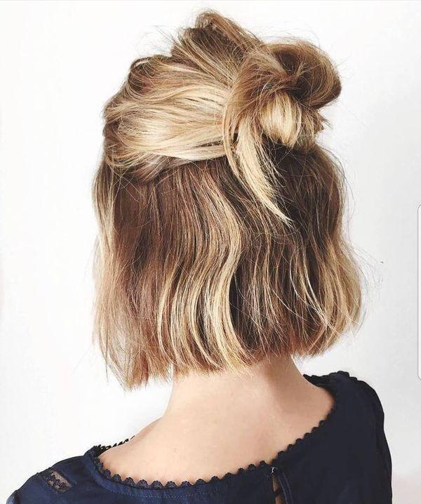 Peinados recogidos fciles de hacer en casa 5